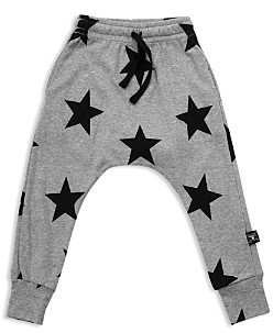 Nununu Unisex Star Baggy Pants - Little Kid