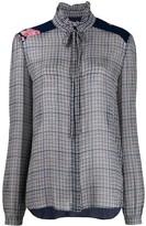Preen Line Liana checked blouse