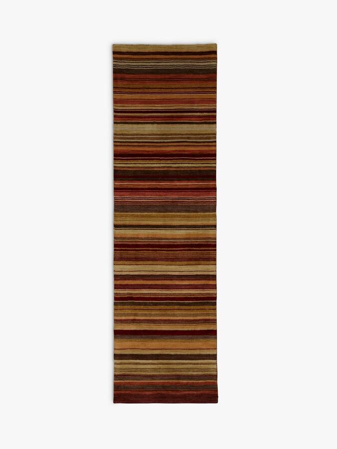 Thumbnail for your product : John Lewis & Partners Multi Stripe Runner Rug, Harvest, L240 x W70cm