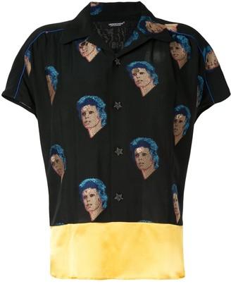 Undercover Bowie blouse
