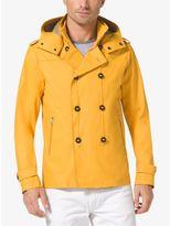 Stretch-Cotton Rain Jacket