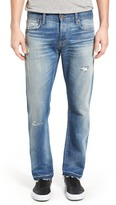 Current/Elliott The Crossover Release Hem Straight Leg Jeans (Zephyr)