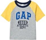 Gap Canary Yellow Short Sleeve Raglan T-Shirt