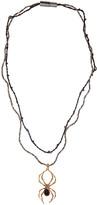 Lanvin Gold Spider Pendant Necklace