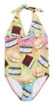 Zara Terez Girl's Printed One-Piece Swimsuit