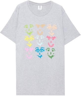 Rosie Assoulin Printed Cotton-blend Jersey T-shirt