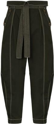 Ulla Johnson Rowen tie waist trousers