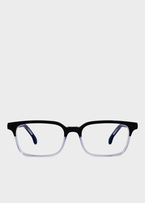 Paul Smith Large Black And Crystal 'Adelaide' Spectacles