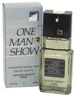 Jacques Bogart One Man Show By For Men. Eau De Toilette Spray 3.33 Oz