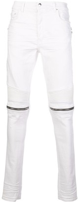Amiri Slim-Fit Zipped Detail Jeans