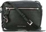 Alexander McQueen Skull camera shoulder bag - women - Leather - One Size