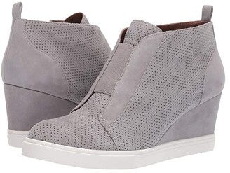Linea Paolo Felicia Wedge Sneaker (Rock) Women's Shoes