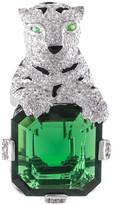 Jarin K Jewelry - Panther and Asscher Cut Brooch