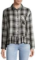 philosophy Dolman Sleeve Plaid Shirt