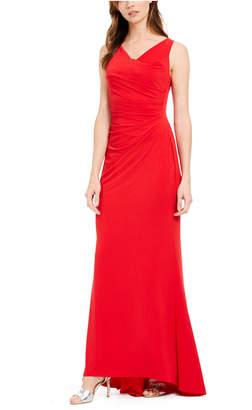 Calvin Klein Draped Cowlneck Gown