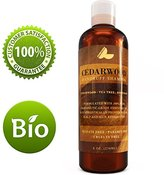 Honeydew Anti Dandruff Shampoo for Women and Men with Cedarwood + Tea Tree Oil & Rosemary - Best Natural Safe Psoriasis Treatment for Scalp - Sulfate Free & USA Made
