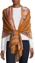 Missoni Printed Edge Scarf
