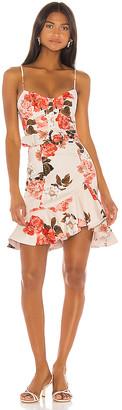 Nicholas Arielle Floral Frill Dress