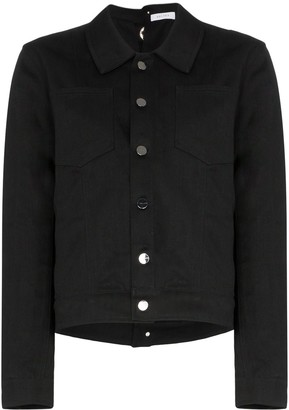 Delada Deconstructed Eyelet Jacket