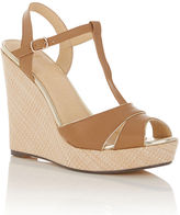 Oasis Wallis Basket Weave Wedge