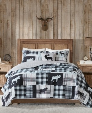 Woolrich Sweetwater Reversible 4-Pc. Oversized Full/Queen Quilt Set