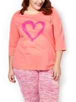 Penningtons Ti Voglio 3/4 Sleeve Cotton PJ Top