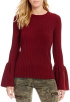 Gianni Bini Shelbi Bell Sleeve Sweater