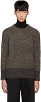 TOMORROWLAND Brown Alpaca Sweater