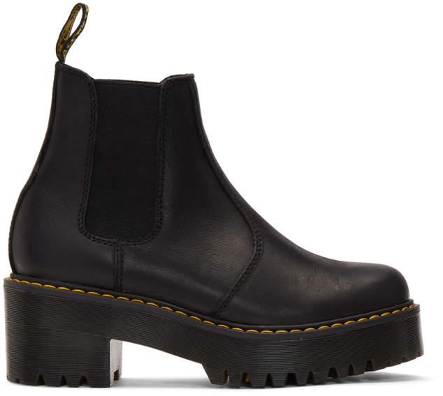 8968d9a4b34a5 Black Rometty Platform Boots