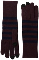 Marc Jacobs Logo Stripe Gloves