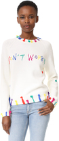 Mira Mikati Multi Don't Worry Sweater