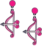 Yazbukey Bow and Arrow Earrings
