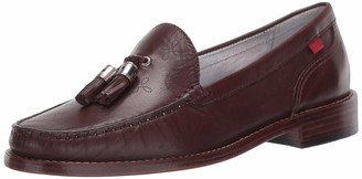Marc Joseph New York Women's Made in Brazil Luxury Leather West End Tassle Loafer
