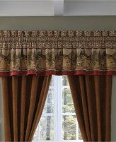 """Croscill Oakwood 88"""" x 17"""" Tailored Window Valance"""