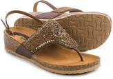 Bos. & Co. BioNatura Crystal Sling-Back Sandals - Leather (For Women)