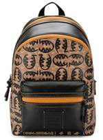Coach monster logo backpack