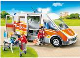 Playmobil Emergency Services Ambulance With Light And Sound