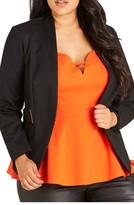 City Chic Plus Size Women's Blazer