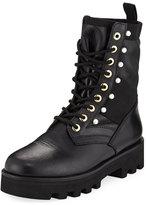 Altuzarra Cosmo Leather Combat Boot