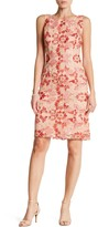 Sandra Darren Floral Lace Lace Embroidered Dress