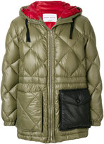 Sonia Rykiel quilted hooded jacket