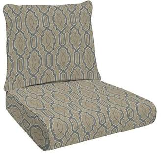 Canora Grey Fretwork Deep Outdoor Lounge Chair Cushion Canora Grey