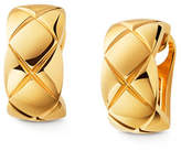 Chanel Coco Crush Earrings In 18k Yellow Gold