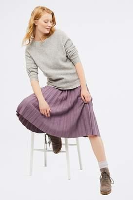 White Stuff Womens Purple Stem Shimmer Skirt - Purple