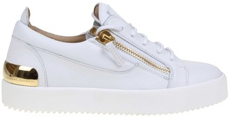 Giuseppe Zanotti May Sneakers In White Nappa Leather