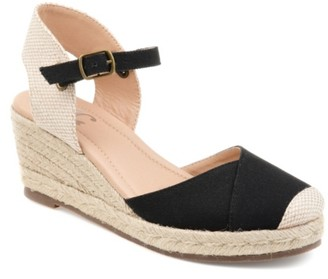 Journee Collection Ashlyn Espadrille Wedge Sandal