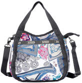 Le Sport Sac LG8056 Jenny Zip Top Hobo Bag