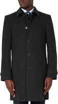 John Lewis Wool Cashmere Tailored Overcoat, Charcoal