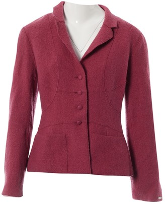 Chanel Pink Wool Jackets