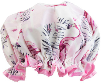 The Vintage Cosmetic Company Shower Cap Pink Flamingo